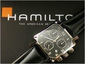 sneakers for cheap 25afa c8eb6 銀婚式記念の腕時計・ハミルトンのロイドクロノグラフ~ 佐賀市T.T様